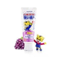 日本皓乐齿巧虎 儿童牙膏葡萄味(70g)