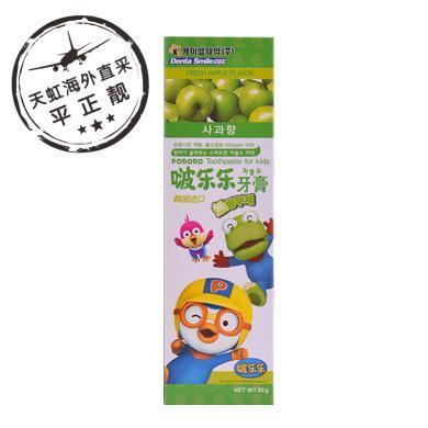 啵樂樂兒童牙膏 蘋果味(90g)