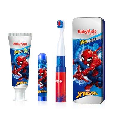 舒客寶貝聲波電動牙刷套裝(40g+1套+1個刷頭)