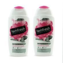 【支持購物卡】【2瓶】英國femfresh芳芯蔓越莓女性私處護理液250ml