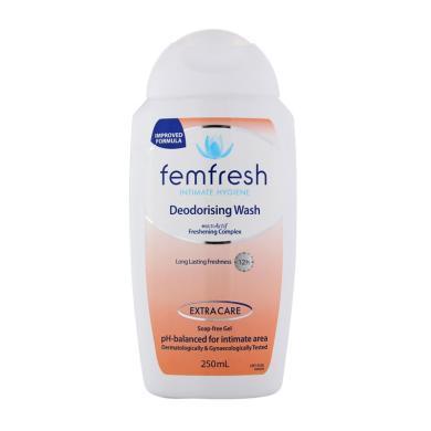 【支持購物卡】澳洲femfresh私處洗液私處護理液250ml百合 香港直郵