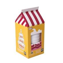 包邮正品Roomfun美国房趣创意8只装黄色蛋糕系列超薄延迟安全套避孕套惊喜礼品