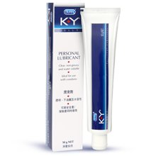 杜蕾斯 KY 人体润滑剂 润滑油 成人 润滑液 男女用 情趣 水溶性 K-Y人体润滑剂50g 原装进口 Durex