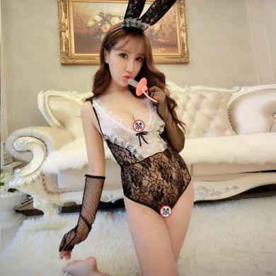 俏皮天使 情趣內衣制服誘惑性感女士角色扮演 低胸吊帶兔女郎