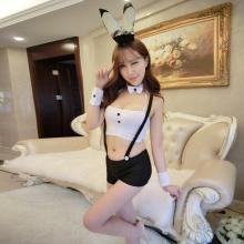 俏皮天使 情趣内衣制服诱惑性感女士角色扮演 低胸吊带兔女郎