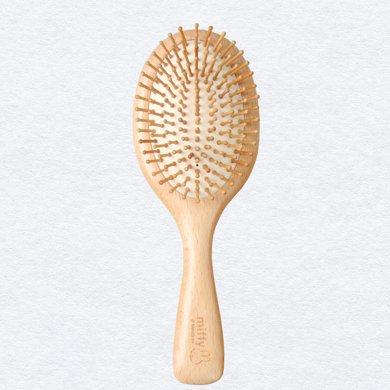 米菲原木氣囊梳按摩頭皮 櫸木氣墊梳養發 包郵