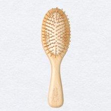米菲原木气囊梳按摩头皮 榉木气垫梳养发 包邮