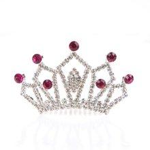 姣兰儿童水晶皇冠可爱发饰发夹
