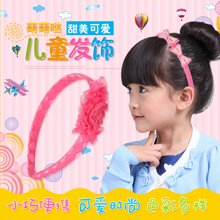 Joy Land/姣兰儿童发箍套装 头饰发夹对夹 宝宝发饰 精美头箍