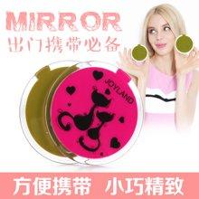 姣兰 美容工具 化妆镜 口袋小圆镜 手抽镜/可爱小镜子