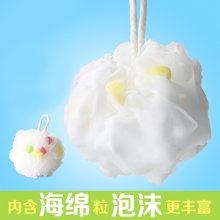 姣蘭 海綿粒沐浴花蕾絲沐浴球加大加厚浴花