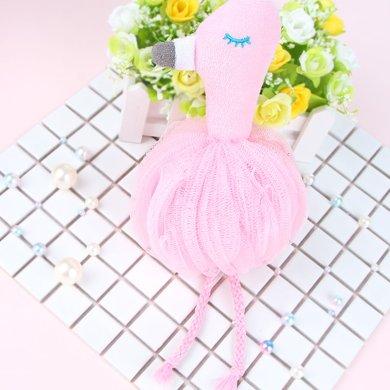 ins风浴花火烈鸟粉色可爱浴花沐浴球洗澡成人儿童
