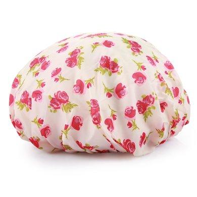 姣蘭 沐浴配件 輕薄雙層加大成人透氣浴帽 沐浴帽