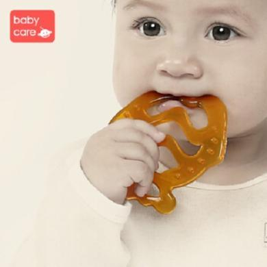babycare 嬰兒牙膠 寶寶磨牙棒 納米銀硅膠牙膠 寶寶咬咬樂無異味 兒童玩具 fish