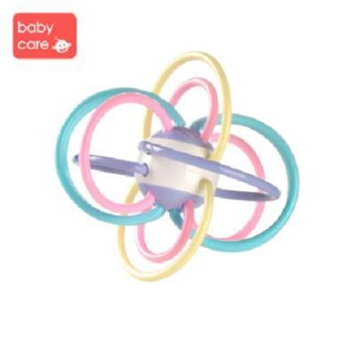 babycare 宝宝牙胶磨牙棒咬咬胶 婴儿玩具曼哈顿手抓球 五?#36866;?#25235;球