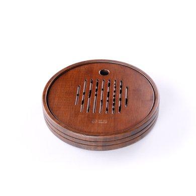 祥福茶具 茶海 竹制茶盤 蓄水式小茶盤茶海 竹托盤 圓滿竹茶盤