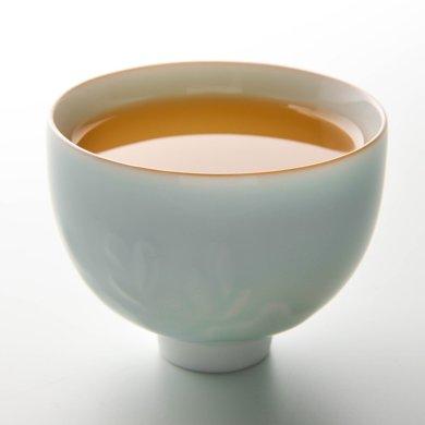 祥福 乐透乐荷影青对杯(2个装)