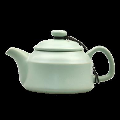 AlfunBel艾芳贝儿-茶具-汝窑天青迎宾茶壶C-1-8 (可养可开片)