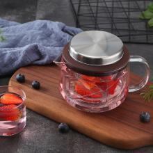 恒福玻璃茶具耐高温泡茶壶飘逸杯家用过滤花茶壶冲茶器得意壶S-500