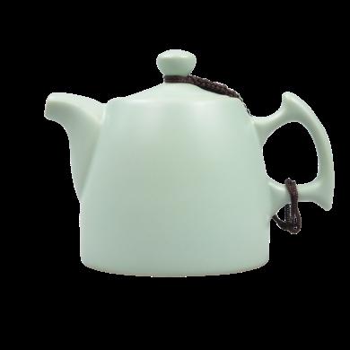 AlfunBel艾芳贝儿陶瓷过滤小茶壶 泡茶器 手抓壶 单壶 汝窑巧把壶C-43-4