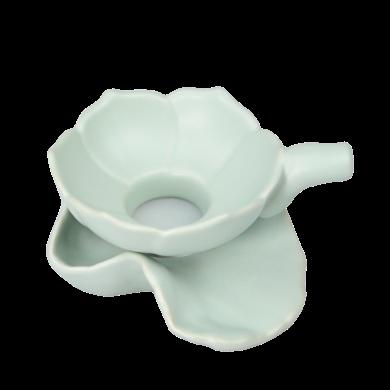 AlfunBel艾芳貝兒茶具-茶道工具-汝窯荷花茶漏(1套裝)C-15-1