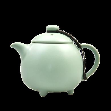 AlfunBel艾芳貝兒-茶具-汝窯天青貴妃壺C-1-10 (可養可開片)