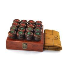 AlfunBel艾芳贝儿红酸枝象棋M-4-1-2商务木盒4.8