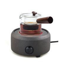 艾芳贝尔 玻璃紫砂茶具烧水套装(含烧水电陶炉及茶壶)