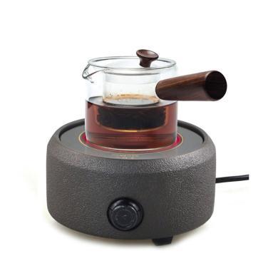 艾芳貝爾 玻璃紫砂茶具燒水套裝(含燒水電陶爐及茶壺)