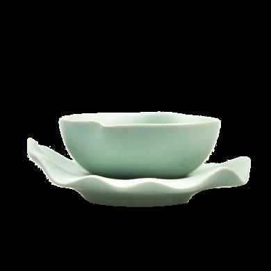 AlfunBel艾芳貝兒茶具-茶道工具-汝窯桃形茶漏(1套裝)C-15-13