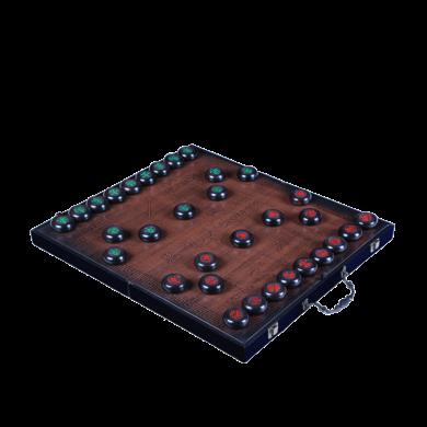 三更手作 紫光檀象棋M-4-3-7折叠棋盘5.8