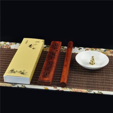 AlfunBel艾芳貝兒香道-檀香組合套裝居家家用室內香料線香臥室香薰精油凈化空氣驅蚊-檀香香筒香盒實惠套裝X-8-ZH-1-2