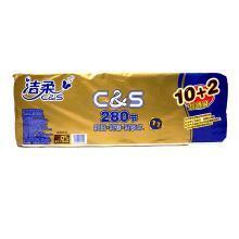 潔柔衛生紙(Face有芯)(105g*12卷)