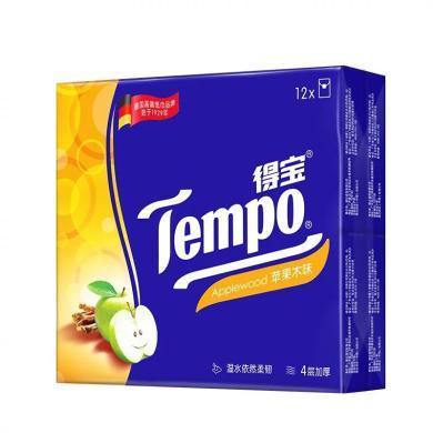 得宝迷你手帕纸(苹果木味)(7片*12包)