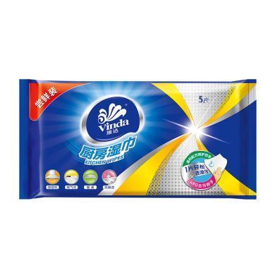 維達廚房濕巾(5片)