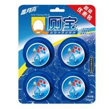 蓝月亮Q厕宝(松木香味)(50g*4)