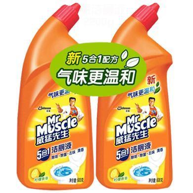威猛先生潔廁液(檸檬香草)雙包裝(600g)