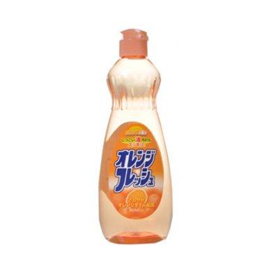 日本屋久美 蔬菜水果洗潔精 香橙味(600ml)