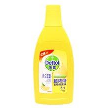 滴露超浓缩衣物除菌液清新柠檬(700ml)