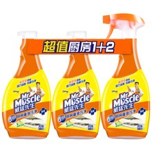 威猛先生厨房重油污净(清爽柠檬)C(500g*3)