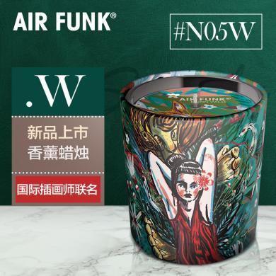 澳洲air funk無煙香薰蠟燭臥室助眠大蠟燭除臭檀香家用蠟燭浪漫