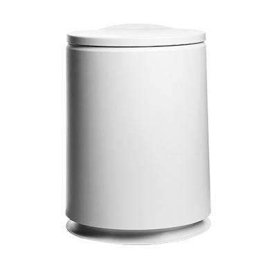阡佰家  新款圓形按壓可分類垃圾桶  BY-6500
