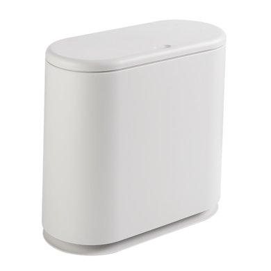 阡佰家 新款家用時尚橢圓形垃圾桶 內雙桶可分類垃圾桶 BY-6333