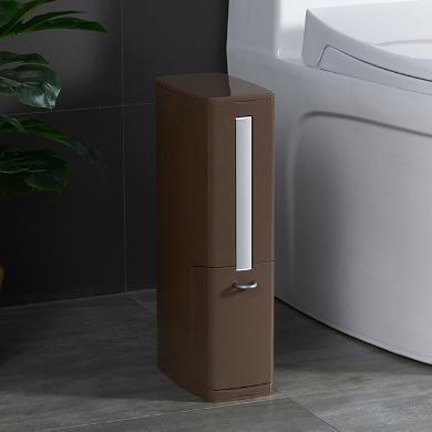 一體式垃圾桶馬桶刷套裝衛生間夾縫垃圾桶清潔刷有蓋紙婁