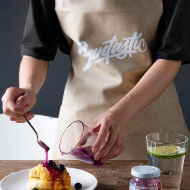 摩登主婦家用廚房防水防油圍裙時尚美觀做飯成人工作服情侶圍裙