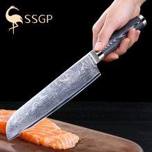 德国大马士革钢刀厨师刀西式主厨刀料理刀肉鱼片家用