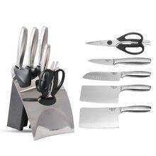 美思工房不銹鋼切菜刀套裝家用全套廚房刀具組合切片水果刀六件套
