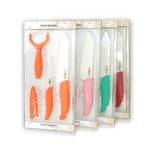 奈瓷全镜面四件套削皮刀主厨刀水果刀