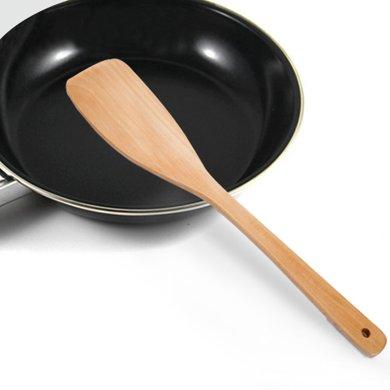 姣蘭 木質鍋鏟炒菜鏟子一體成型 木鏟