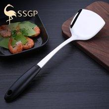 SSGP防烫锅铲304不锈钢炒菜铲子家用大厨具加厚厨房用具烹饪长柄 0033 锅铲